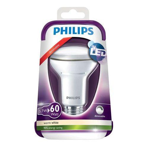 Philips Żarówka led 5,7w (60w) e27 r63 420lm 2700k