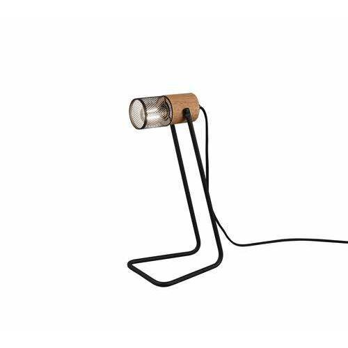 Trio tosh 504300132 lampa stołowa lampka 1x15w e14 czarna (4017807467703)