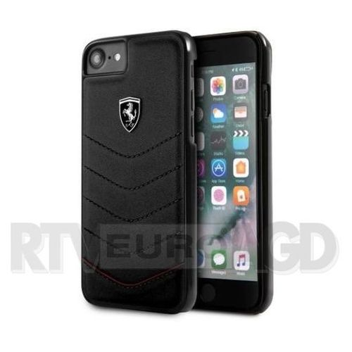 Ferrari Etui hardcase FEHQUHCI8BK iPhone 7/8 czarny, kolor czarny