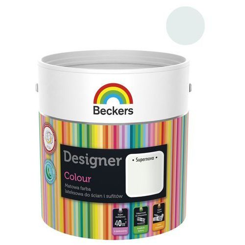 Beckers Farba wewnętrzna designer colour 2.5 l supernova