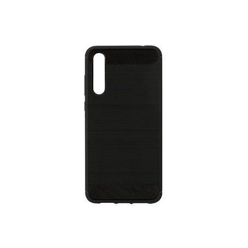 Huawei P20 Pro - etui na telefon Forcell Carbon - czarny, kolor czarny