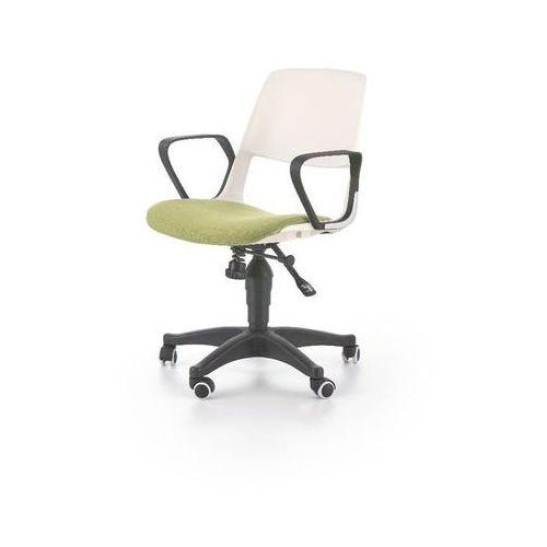 Jet fotel młodzieżowy biało-zielony