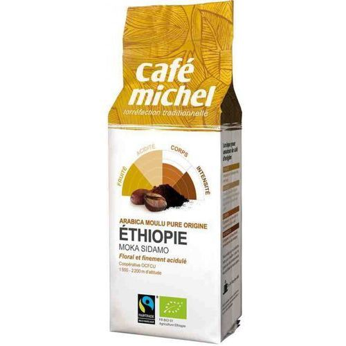 Cafe michel Kawa ft mielona moka sidamo etiopia bio 250g