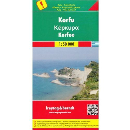 Korfu. Mapa 1:50 000 (9783707909562)