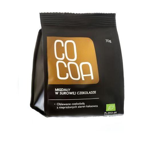 : migdały w surowej czekoladzie bio - 70 g marki Cocoa