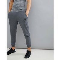 Nike training fleece tapered joggers in dark grey 860371-071 - grey