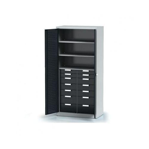 Szafa warsztatowa - 3 półki, 14 szuflad marki Alfa 3