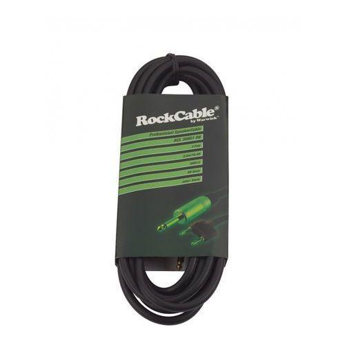 Rockcable przewód głośśnikowy - banana plug (4 mm) / straight ts plug (6.3 mm) - 5 m / 16.4 ft.
