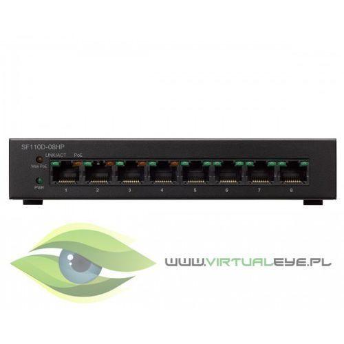 Sf110d-08hp-eu 8x10/100 poe desktop switch marki Cisco