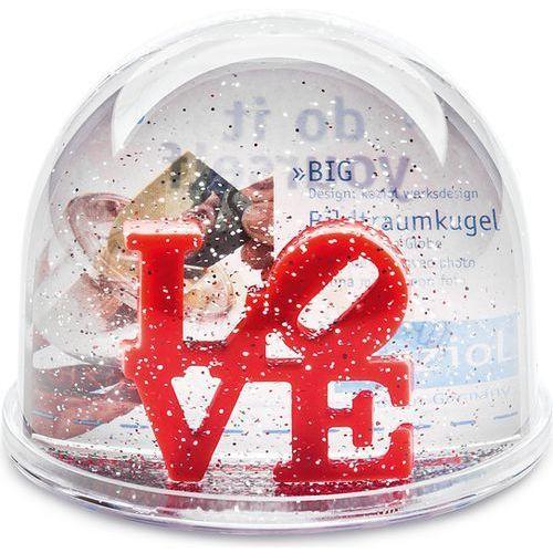 Koziol Kula śnieżna love z wkładką na zdjęcie 7,5 cm