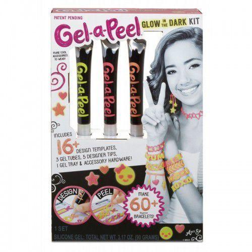 gel-a-peel zestaw akcesoriów, świecące w ciemności marki Mga