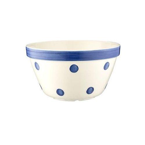Mason cash Miseczka do puddingu 0,9l spot&stripes niebieskie kropki