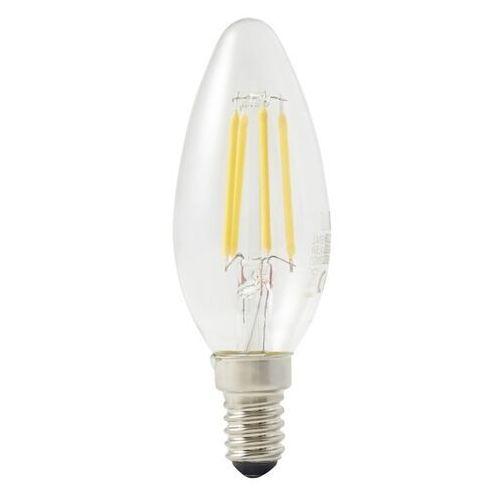 Żarówka LED Diall B35 E14 4,5 W 470 lm przezroczysta barwa ciepła, TC39L13