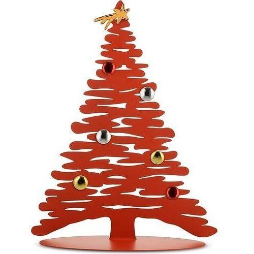 Dekoracja świąteczna choinka Alessi-czerwona, BM06R