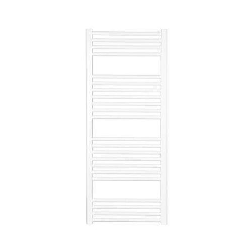 grzejnik łazienkowy bellis1 stalowy biały prosty 500 x 800 mm 358w marki Alterna