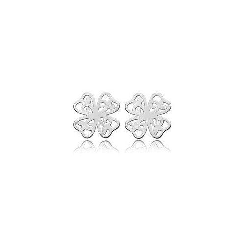 Sztyft baza do kolczyków Koniczynki, srebro próba 925, SZ 21 z kategorii Akcesoria do biżuterii