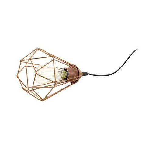 Lampa stołowa BYRON miedziana E27 INSPIRE (3276006223096)