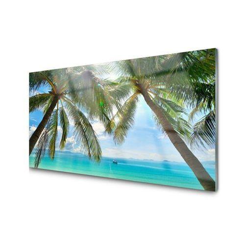 Obraz akrylowy palma drzewo morze krajobraz marki Tulup.pl