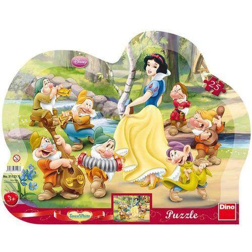 2-311237 Puzzle Królewna Śnieżka i siedmiu krasnoludków - PUZZLE DLA DZIECI