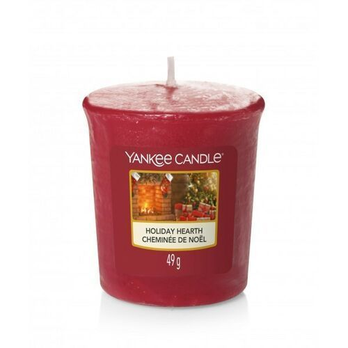 YANKEE CANDLE ŚWIECA 49G VOTIVE HOLIDAY HEARTH, 5038581102559