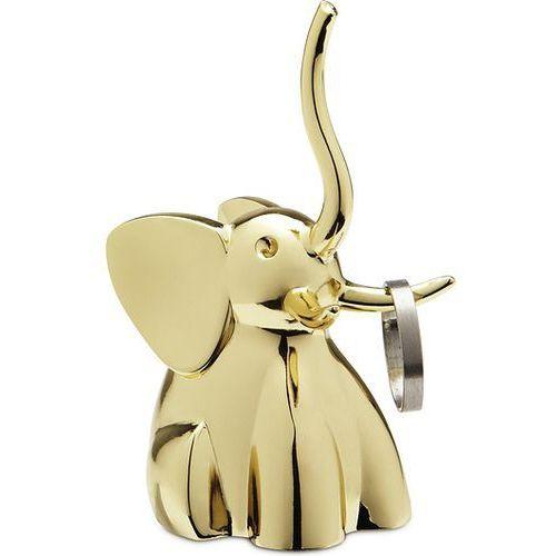 Umbra Stojak na pierścionki zoola mosiądz słoń