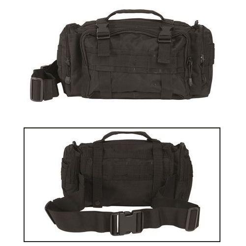 Torba biodrowa Mil-Tec Fanny Pack Modular System Large Black (13510102), kolor czarny
