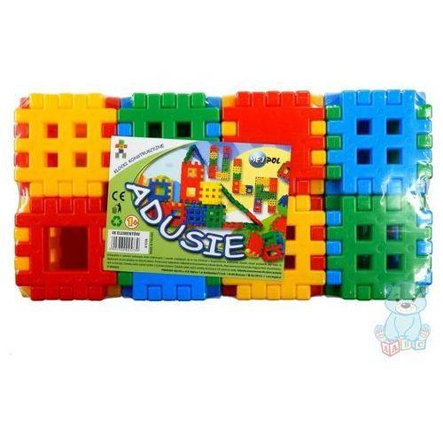 Klocki konstrukcyjne Adusie 48 el. zabawka dla dzieci