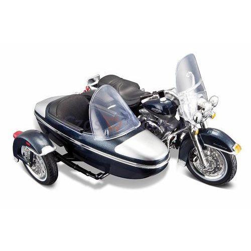 Maisto harley davidson 2001 flhrc road king classic z wózkiem bocznym 1/18