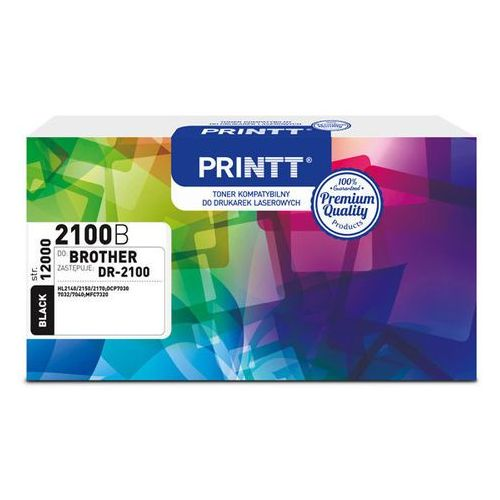 Ntt system Toner printt do brother ntbd2100 (dr-2100) czarny 12 000 str.