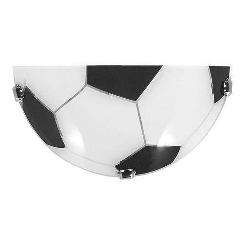 soccer k1 490/k1 kinkiet lampa ścienna 1x60w e27 czarny / biały marki Lampex