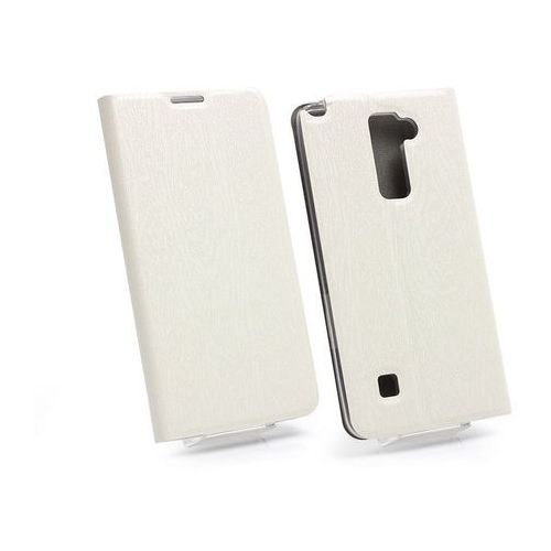 LG Stylus 2 Plus - etui na telefon Flex Book - biały, ETLG384FLBKWHT000