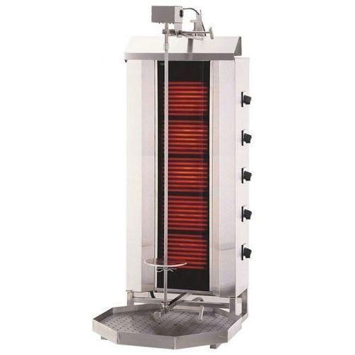Gyros   opiekacz elektryczny do kebaba   5 palników   wsad 80kg klg 232 marki Resto quality