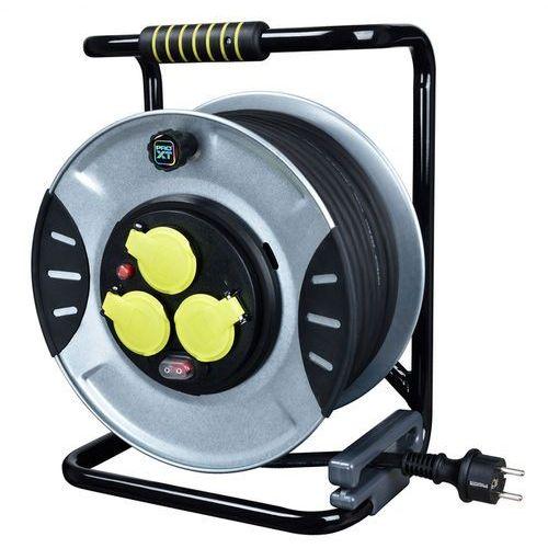 Diall Przedłużacz bębnowy metalowy 3 x 1,5 mm2 40 m