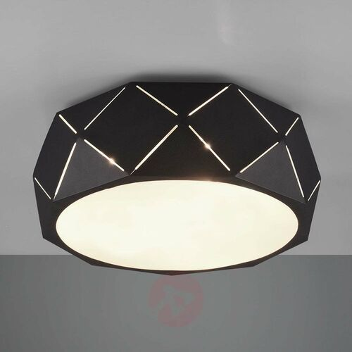 Lampa Sufitowa Trio Leuchten ZANDOR Czarny, 3-punktowe - Nowoczesny - Obszar wewnętrzny - ZANDOR - Czas dostawy: od 3-6 dni roboczych, 603500332