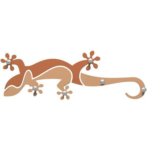 Wieszak ścienny Gecko CalleaDesign jasnobrzoskwiniowy (54-13-1-22)