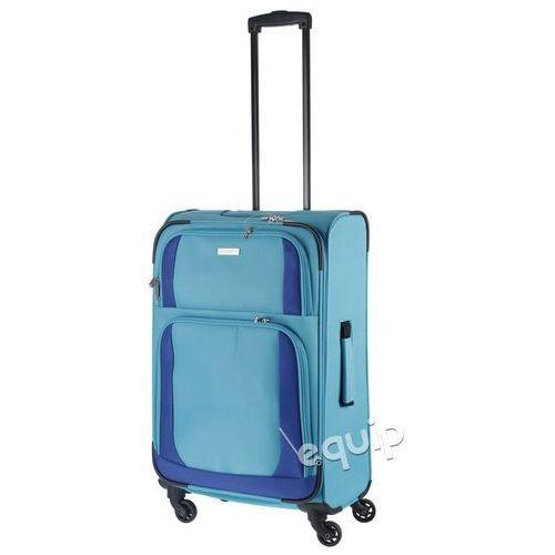 Walizka średnia Travelite Paklite Rocco - turkusowy/niebieski