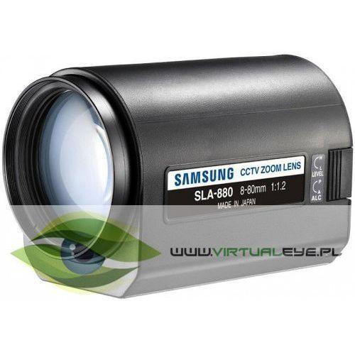 Obiektyw z moto zoomem sla-880 wyprodukowany przez Samsung