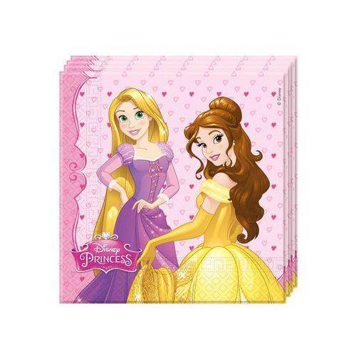 Procos disney Serwetki urodzinowe princess - księżniczka - 33 cm - 20 szt. (5201184866795)