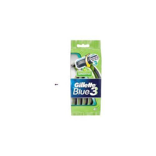 Gillette Blue 3 Sensitive (M) jednorazowa maszynka do golenia 5szt