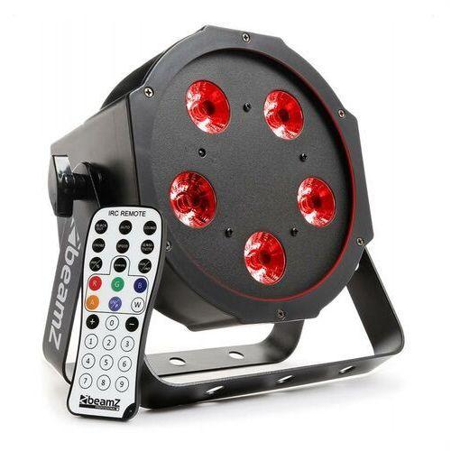Beamz bfp120 projektor flatpar led 4-w-1 5x 8 w rgbw led dmx pilot na podczerwień (8715693287639)