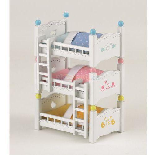 Epoch Sylvanian families potrójne łóżko piętrowe