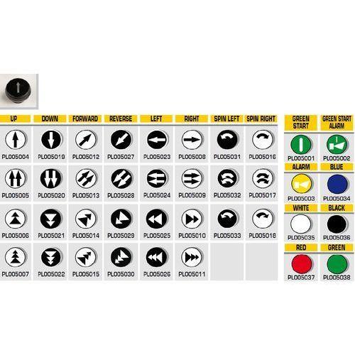 Przycisk kasety sterującej pl0050 marki Giovenzana