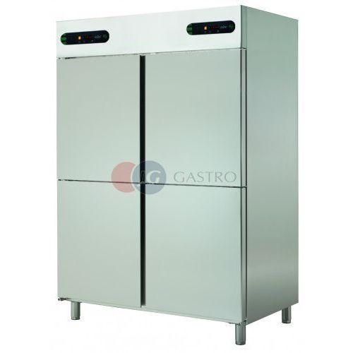 Szafa chłodnicza z komorą mroźną 4x1/2 drzwi 1050 l ECPM-1404