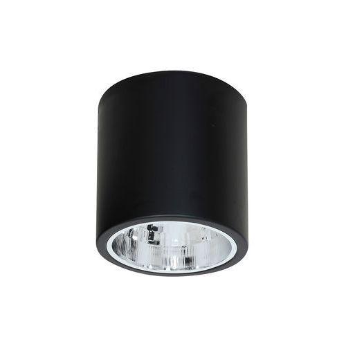 Plafon lampa sufitowa Luminex Downlight Round 1x60W E27 czarny 7241 >>> RABATUJEMY do 20% KAŻDE zamówienie!!!, 7241
