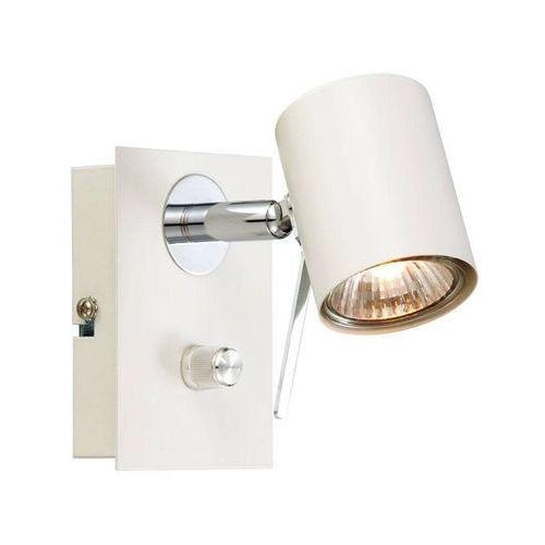 HYSSNA 1 biały 104441 - kinkiet ze ściemniaczem 1x50W GU10 Markslojd, 104441