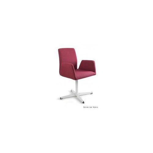 Krzesło biurowe brava czerwone marki Unique meble