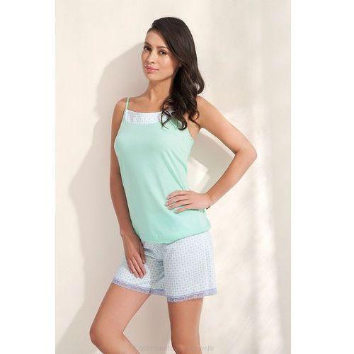 Piżama Luna 530 S-2XL krótka S, zielony/seledynowy. Luna, 2XL, L, S, XL, 5902080530116