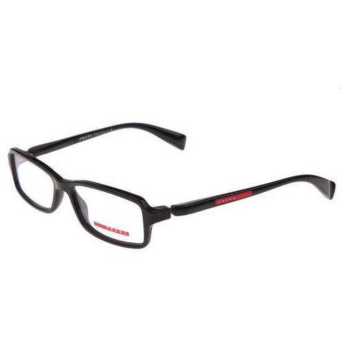 Prada vps 04b 1ab Okulary korekcyjne + Darmowa Dostawa i Zwrot
