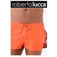 Szorty Kapielowe Męskie Roberto Lucca 70142 MONACO Neon Orange, kolor pomarańczowy