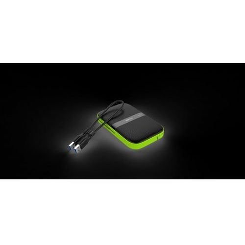 Dysk zewnętrzny Silicon Power ARMOR A60 2TB USB 3.0 BLACK-GREEN/PANCERNY wstrząso/pyło i wodoodporny IPX4